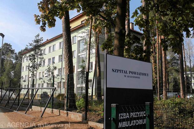 Szpitalowi w Augustowie grozi bankructwo. B�d� zwolnienia i obni�ki pensji