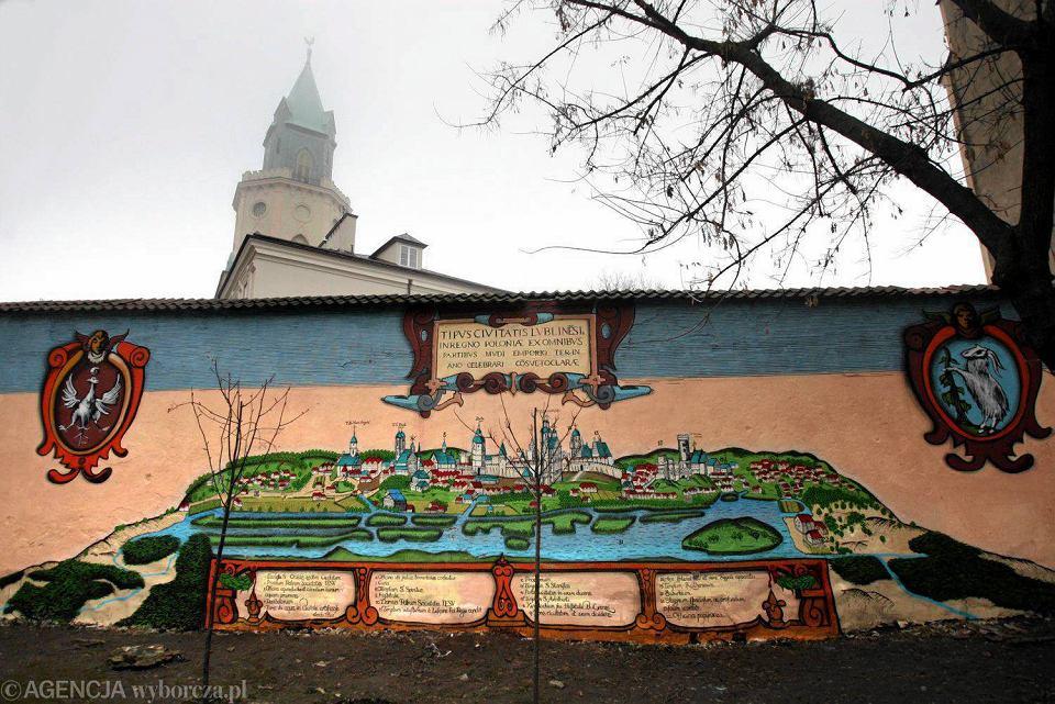 Nowy mural w lublinie tym razem na starym mie cie for Mural na tamie w solinie