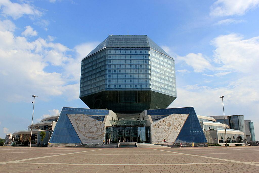 National Library of Belarus / Fot. Julian Nitzsche, WIkimedia CC BY-SA 4.0.