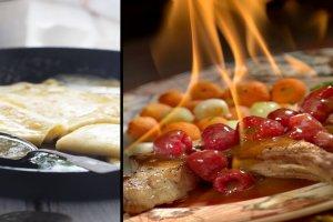 Flambirowanie to sztuczka, która podniesie temperaturę w kuchni. Włącz alkohol i ogień do gry