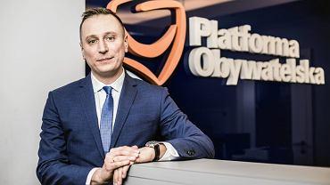 Posel Platformy Obywatelskiej Krzysztof Brejza