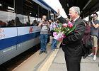 Ewa Kopacz nie przyjechała na zaproszenie PiS. Czy bilet był na dobry pociąg? [FOTO]