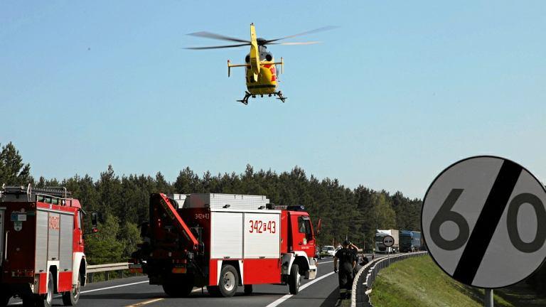 Wypadek na S3 - zdjęcie ilustracyjne