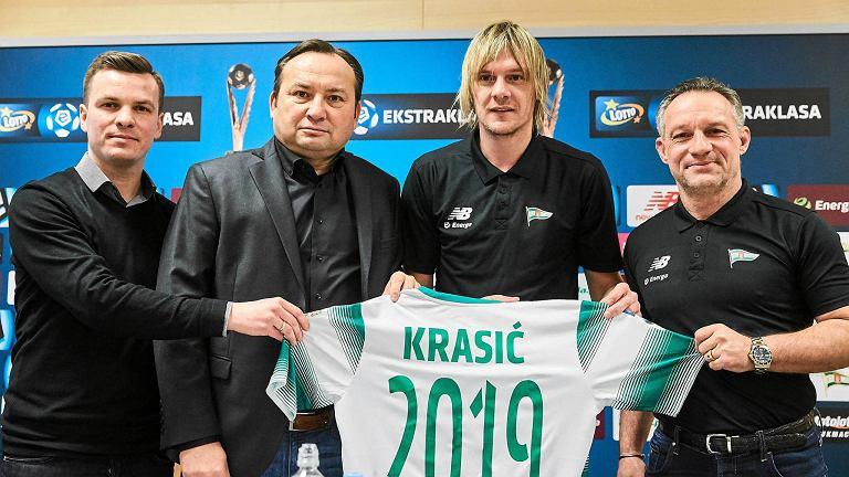 Milos Krasić podpisał nowy kontrakt z Lechią
