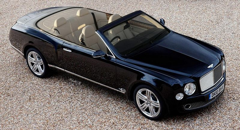 Bentleya Mulsanne Cabrio