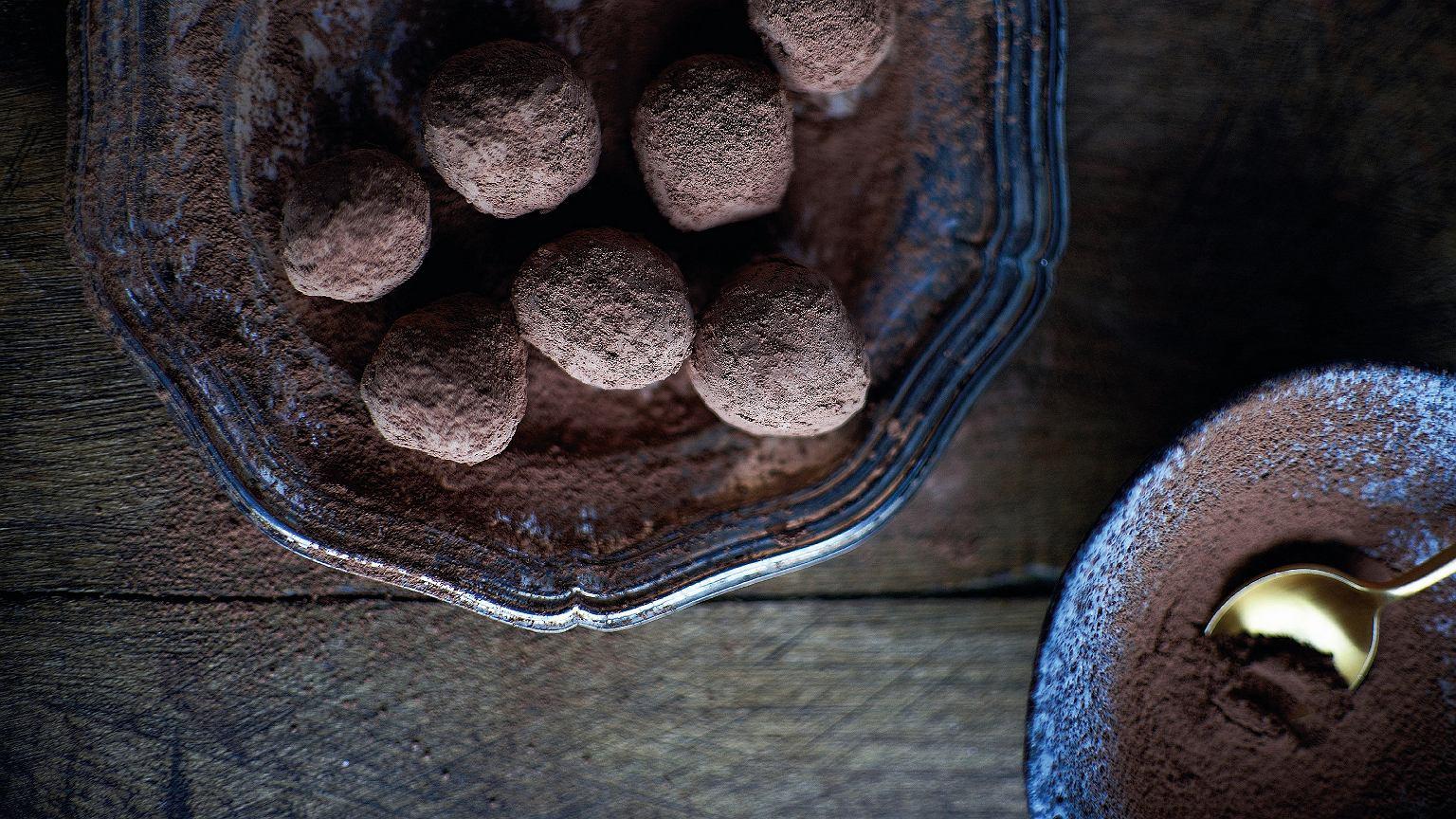 Trufle kawowo-kuminowe