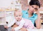 Praca w domu: idealne rozwiązanie dla mamy?