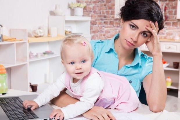 Praca czy siedzenie z dzieckiem w domu?