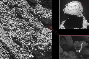 W ostatniej chwili udało się odnaleźć robota, który 2 lata temu zaginął na komecie