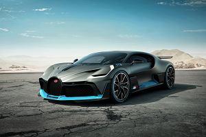 Bugatti Divo - tylko 40 sztuk, każda za 5 mln euro