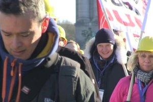 Bran�e przemys�owe z ca�ej Europy protestowa�y w Brukseli przeciwko chi�skiej konkurencji