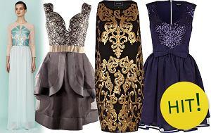 Sukienki z po�yskiem