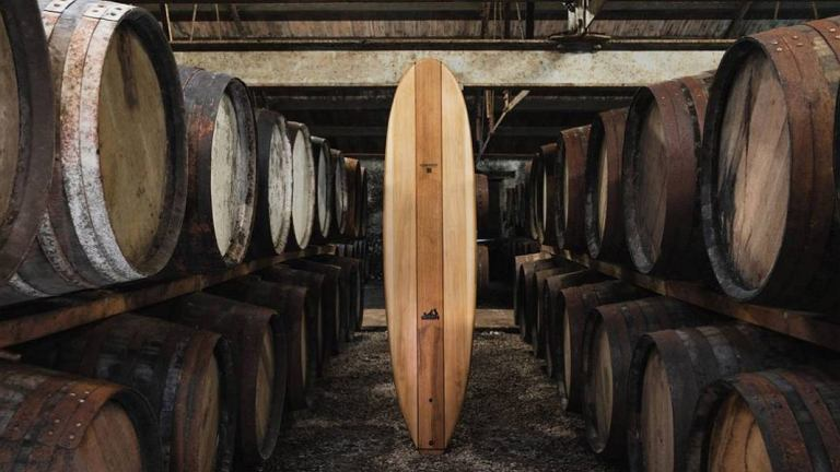 Glenmorangie x Grain Surfboards