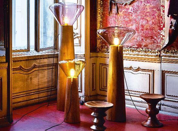 MUFFIN TREES to limitowana edycja lamp zaprojektowanych przez duet Lucie Koldova i Dan Yeffet dla Gallery S. Bensimon w Paryżu, luciekoldova.com, danyeffet.com