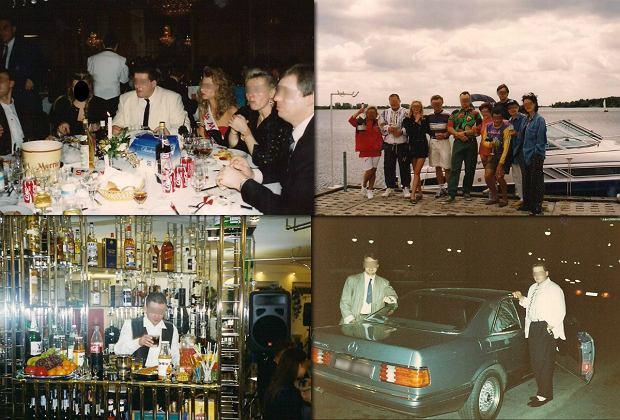 """Bajeczne życie polskich gangsterów na zdjęciach """"Masy"""". Imprezy, samochody, łodzie [ZDJĘCIA]"""