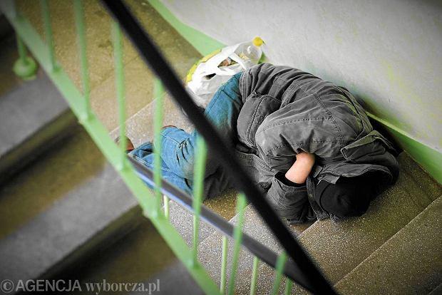Bezdomny w �odzi