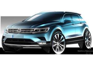 Salon Frankfurt 2015 | Volkswagen Tiguan | Pierwsze oficjalne szkice