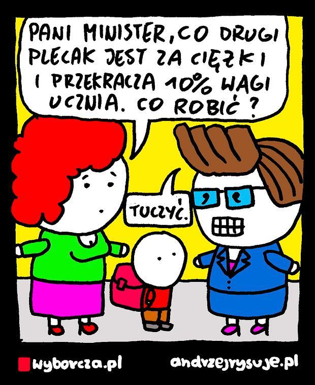 Andrzej Rysuje   PLECAKI -  -