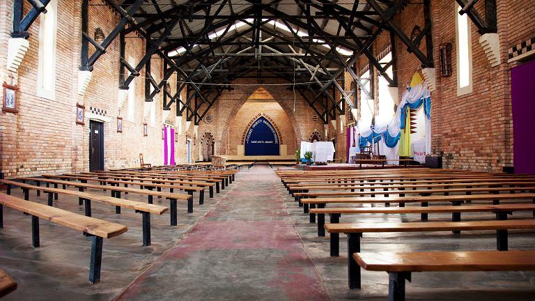 Kościół w  Rwandzie (zdjęcie ilustracyjne)