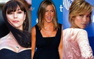 Monica Bellucci, Jennifer Aniston, Jennifer Lopez