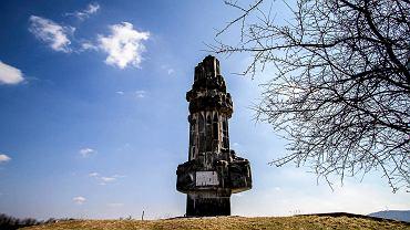 Dekomunizowany pomnik na kieleckiej Kadzielni
