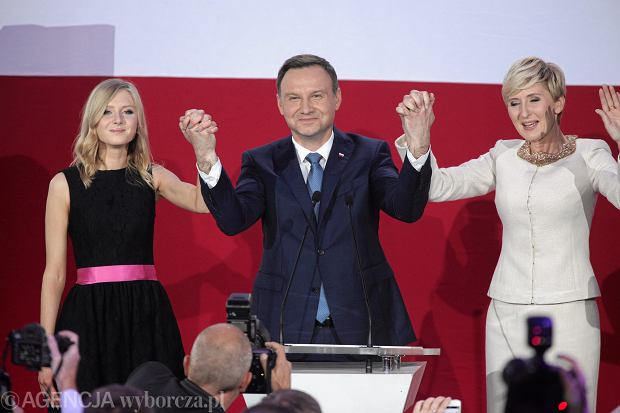 Wiecz�r Wyborczy Andrzeja Dudy