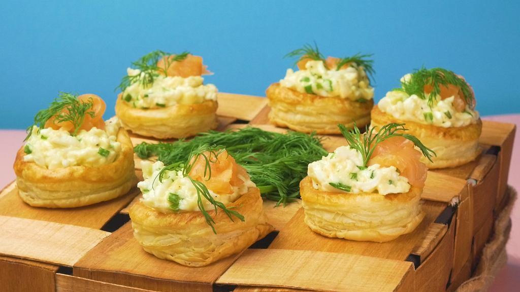 Koszyczki Z Ciasta Francuskiego Z Pasta Jajeczna Z Domowym Majonezem