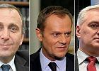 Grzegorz Schetyna, Donald Tusk, Jaros�aw Gowin