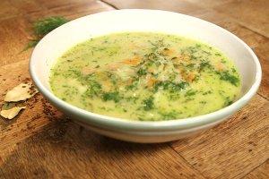 Zupa og�rkowa ze �mietan� i koperkiem [Jakub Kuro� gotuje]