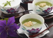 Zupa z okry z musem jajecznym z krewetkami - ugotuj