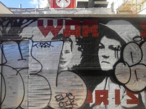 Nowojorski mural upami tniaj cy powstanie warszawskie for Mural ursynow