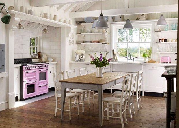 Jak urządzić kuchnię w stylu retro? -> Kuchnia Nowoczesna I Retro