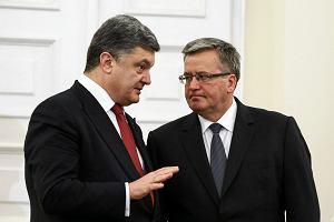 Petro Poroszenko w Sejmie: Dzi�kuj�. Razem jeste�my niepokonani