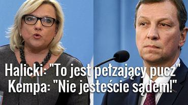 Beata Kempa i Andrzej Halicki