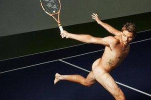 Wimbledon 2015. Stan Wawrinka rozebra� si� przed fotografami ESPN