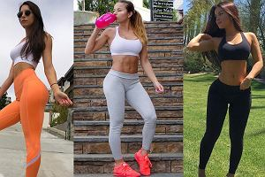 Najpopularniejsze trenerki fitness z Instagrama uwielbiają połączenie legginsów z biustonoszem sportowym