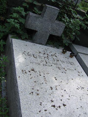 Nagrobek Jerzego Andrzejewskiego na Cmentarzu Powązkowskim, Warszawa, 8 lipca 2006