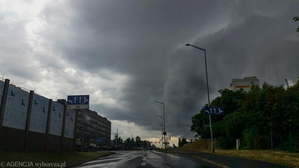 Burza. Prognoza pogody