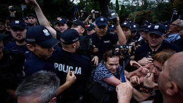 18.07.2018, protest pod Sejmem.