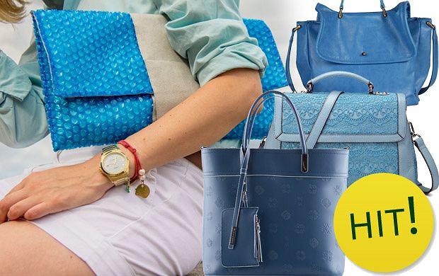 4d00c215 HIT: niebieskie torebki na wiosnę i lato 2013