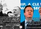Cameron zapowiada wysłanie na Ukrainę żołnierzy i nawiązuje do historycznych słów Chamberlaina