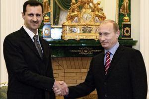 Syria popiera dzia�ania Putina wobec Ukrainy