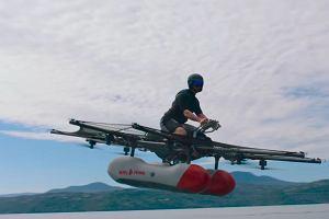 Oto jak fruwa elektryczny skuter wodny wspierany przez współzałożyciela Google. Trafi do sprzedaży pod koniec roku