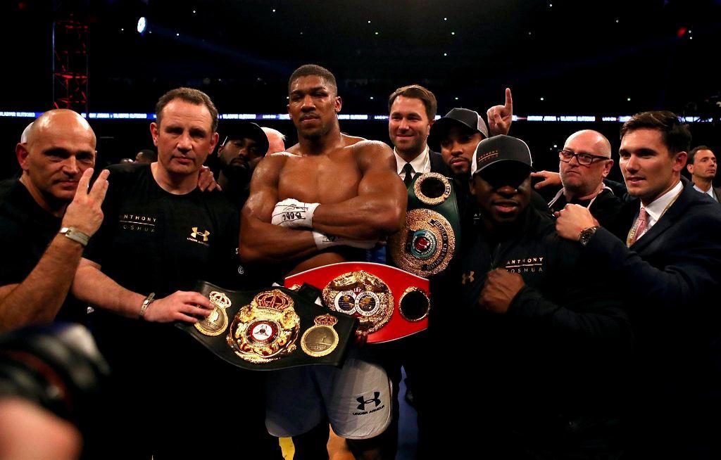 Anthony Joshua nowy mistrz świata wagi ciężkiej.