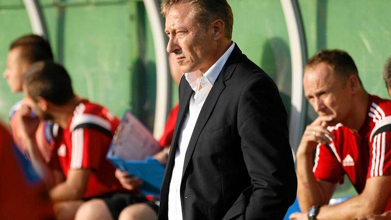 Trener Ryszard Tarasiewicz
