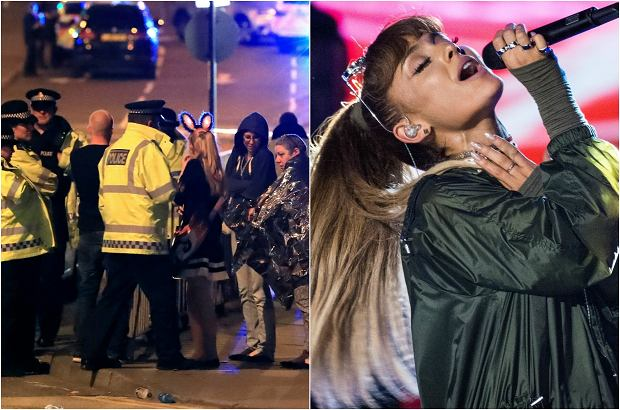 Ariana Grande to 23-letnia amerykańska gwiazda muzyki popularnej, której karierę śledzi cały świat. Piosenkarka jest wstrząśnięta zamachem, który miał miejsce tuż po tym, jak zeszła ze sceny.