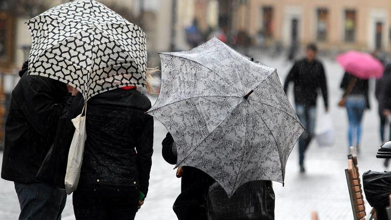 Deszcz w Lublinie