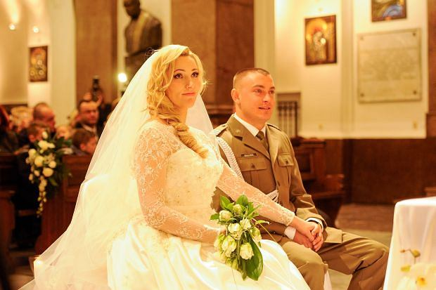 Ślub Sylwii Gruchały.