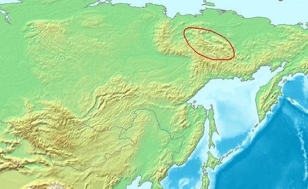 Lokalizacja Gór Czerskiego