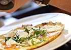 Kremowy omlet z �ososiem i rukol�